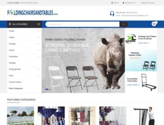 foldingchairsandtables.com screenshot