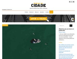 folhacidade.com.br screenshot