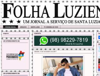 folhaluziense.com.br screenshot