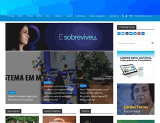 folharondoniense.com.br screenshot
