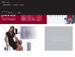 folic.com.br screenshot