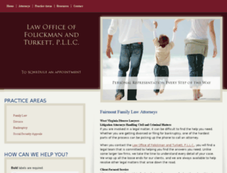 folickmanlaw.com screenshot