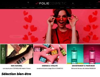 foliecosmetic.com screenshot