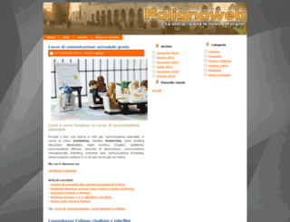 folignoweb.it screenshot