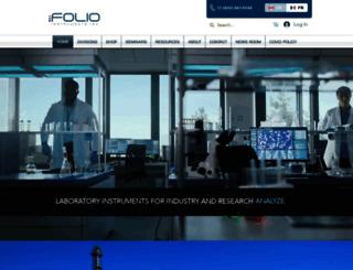 folioinstruments.com screenshot