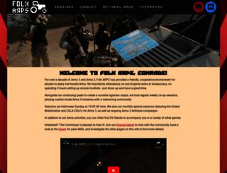 folkarps.com screenshot