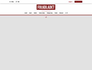 folkbladet.nu screenshot