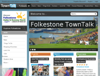 folkestone.towntalk.co.uk screenshot