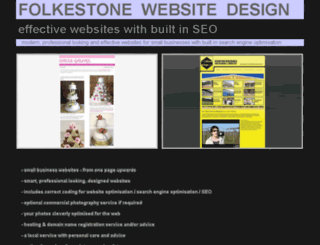 folkestonewebsitedesign.co.uk screenshot