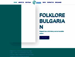 folklore-bg.com screenshot