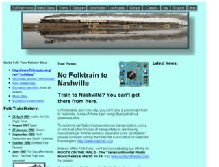 folktrain.com screenshot