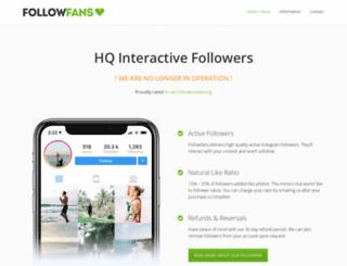 followfans.com screenshot