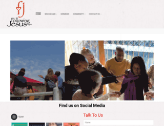 followingjesus.org.za screenshot
