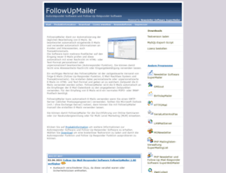 followupmailer.de screenshot