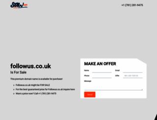 followus.co.uk screenshot