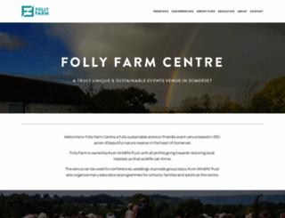 follyfarm.org screenshot