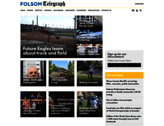 folsomtelegraph.com screenshot