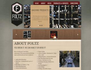 foltzcompany.com screenshot