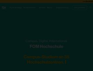 fom.de screenshot