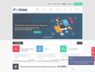 fomaxtech.com screenshot