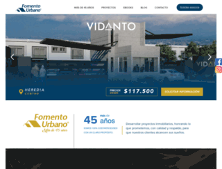 fomentourbano.co.cr screenshot