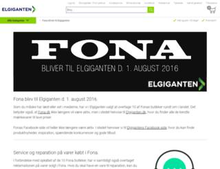 fona.dk screenshot