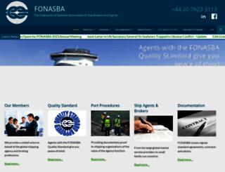 fonasba.com screenshot