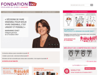 fondation-solidaritesncf.org screenshot