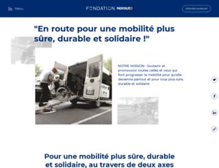 fondation.norauto.fr screenshot