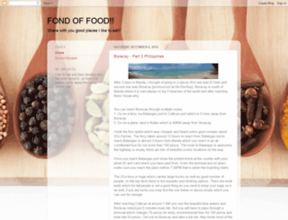 fondoffood.blogspot.com screenshot