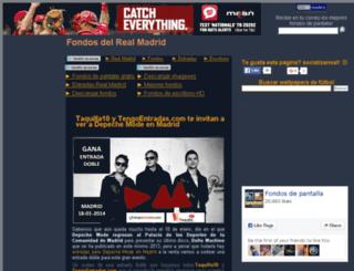 fondosdelrealmadrid.com screenshot
