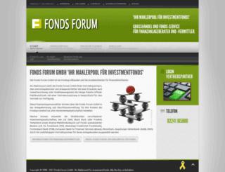 fonds-forum.de screenshot