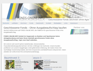 fonds-online.info screenshot