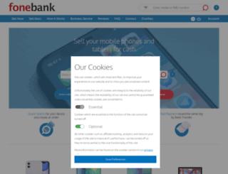 fonebank.com screenshot