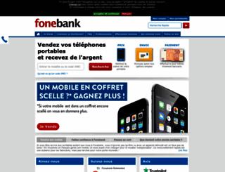 fonebank.fr screenshot