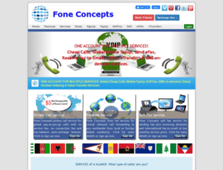 foneconcepts.com screenshot