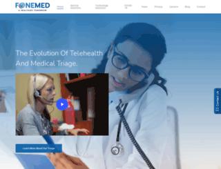fonemed.com screenshot