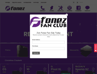 fonezonline.ie screenshot