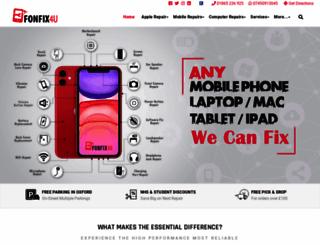 fonfix4u.co.uk screenshot