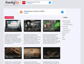 fonky.cz screenshot