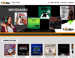 fonolibro.com screenshot