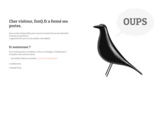 fonq.fr screenshot