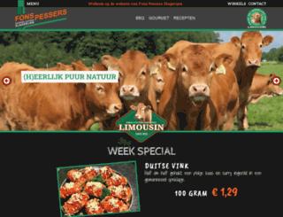 fonspessers.nl screenshot