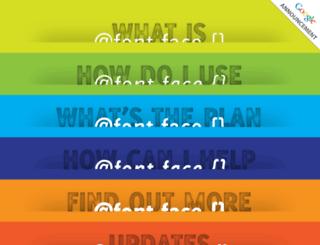 font-face.com screenshot