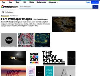 font-zone.com screenshot