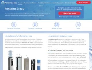 fontaine-a-eau.com screenshot