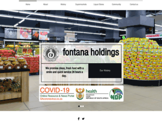 fontanaholdings.co.za screenshot
