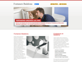 fontanerobadalona.com screenshot
