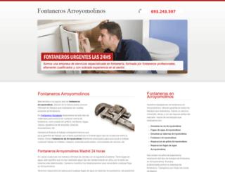 fontaneros-arroyomolinos.es screenshot