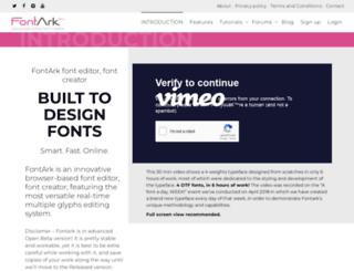 fontark.net screenshot